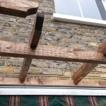 carpentry/pergola 2, Fulham