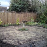 project/ground prepered and siddled