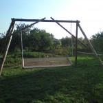 carpentry - handmade swinging bench 2