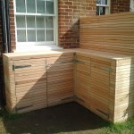 entiry project/carentry/designer's bin storage after, Wimbledon Village